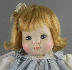 Madame Alexander Puddin Doll Tagged Dress 1965