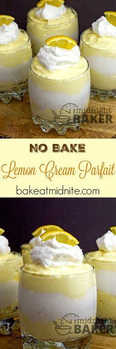 This no-bake creamy lemon dessert is full of lemony flavor with a velvety…