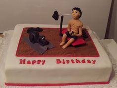 Sabines Torten: Geburtstagstorte mit Hund