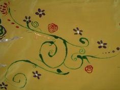 This silk art altar cloth, Pagan Joy, is still available, wheeeee!