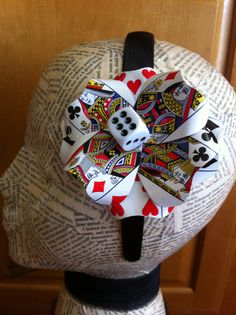 Poker Card Fascinator by RoundRockCrafts on Etsy, $18.00