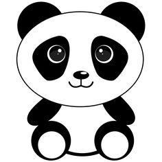 Cute Cartoon Panda from Pixabay.