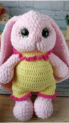Pink plush bunny. Rabbit doll holiday gift. Birthday gift for girl. Gift for kids. Gift for children. Gift for friend. Handmade Toys, Handmade Crafts, Handmade Ideas, Girl Toys Age 8, Best Toys For Puppies, Toys R Us Song, Bunny Plush, Toys For 1 Year Old, Rabbit Toys