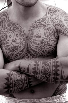 """Did you know? The word """"tattoo"""" comes from the Tahitian word tautau, which was…"""