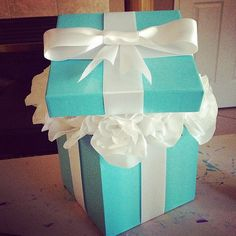 Tiffany & Co. inspired Centerpiece Wedding by PamperYourselfBridal, $21.99