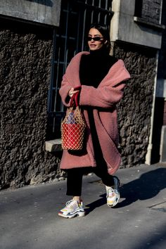 36abf793abb95 Puffers Were a Street Style Essential On Day 3 of Paris Fashion Week