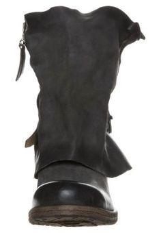 A.S.98 - ALL - Cowboy/Biker boots - grey