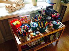 Craft station done!