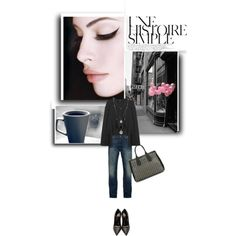 A fashion look from September 2015 by drigomes featuring Levi's, Yves Saint Laurent, Fiorelli, Vince Camuto, Christian Dior and Une