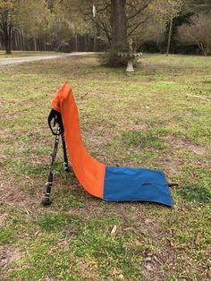 Customer Project: Trekking Pole Chair- Oz – C Leier – bushcraft camping Ultralight Backpacking Gear, Backpacking Chair, Bushcraft Camping, Kayak Camping, Hiking Gear, Hiking Backpack, Solo Camping, Backpacking Meals, Camping Hammock