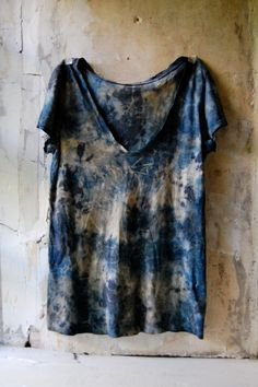 i do small batch dye work. each item or garment is dyed individually with natural dyes including locally foraged plants. i sometimes add patchwork and