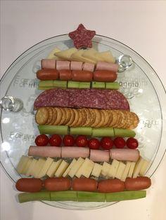 Xmas tree food party