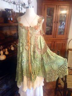 Fairy Woodland de Luv Lucy Crochet robe Lucy par LuvLucyArtToWear