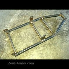 New ZeusArmor Scrape Bar / Subframe Brace for 09-15 Kawasaki ZX6R/636 available soon in our online store (link in profile) #zeusarmor #dowork #kawasaki #zx6r #636 #stunt #scrapebar #subframebrace