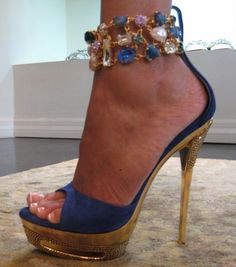 """These are by Francesco Sacco and he is sure to become one of my favorites! Let's hear it for """"lady-like"""" hooker heels..."""
