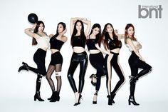 HyunA, CL và Nine Muses xinh đẹp & phong cách trên tạp chí tháng 11 29