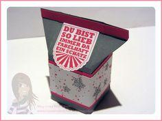 Stampin' Up! - Geschenkbox - Mini-Milchkarton - Hearts a Flutter - Gorgeous Grunge - Eine Kiste voller Grüße - www.rosamaedchen.blogspot.de