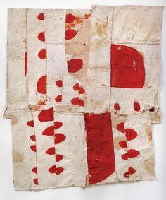 Sati Zech, Bollen 11, 2003. Oil and linen, 190x160 cm.  Reproduced from Gercke, Hans, and Christoph Tannert. Sati Zech: Bollenarbeiten 2001–2006.  Berlin: Heidelberger Kunstverein, 2006, 49.