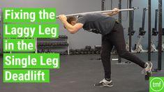 Fixing the Laggy Leg in Single Leg Deadlifts - The Movement Fix