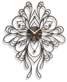 Sophia Clock, Onyx contemporary-clocks