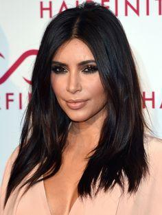 Kim Kardashian Korter haar in 2014| ELLE