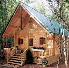 Build This Cozy Cabin For Under $4000 Perfect cozy getaway!