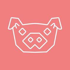Pig Icon Logo Food suggestions welcome #pig #butcher #bbq #pork #bacon #outline #vector #icon #project #visforvector #graphic #design #visual #100foods #npdstudio #illustration #adobeillustrator #illustrator #digitalart #designer #graphic #adobe #graphicdesigner #design #graphicdesign #vectorart #artwork #logo #vectorillustration @pirategraphic #graphicroozane #simplycooldesign #logodesign
