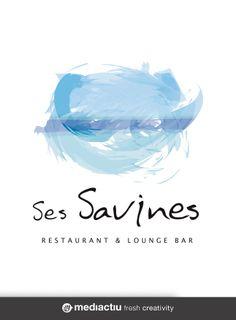 Creación y diseño gráfico del logotipo para el restaurante Ses Savines