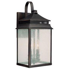 Capital Lighting Sutter Creek 2 light Wall Lantern CA-9112OB