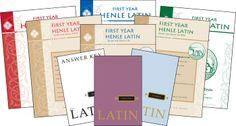 Henle Latin 1 set (text, key, grammar) at Memoria Press for $28