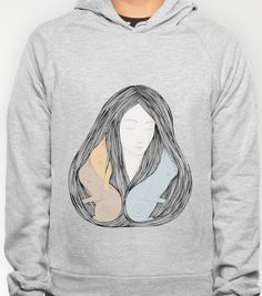 Catlady Hoody by Mouseblossom | Society6