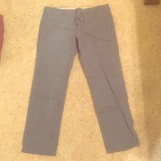 Men's Lived-In Dress pant, grayish blue Casual/ Dress wear, flat front and flat back pockets, SLIM FIT GAP Pants