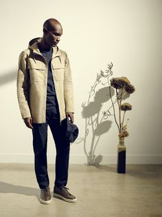 MEN'S LOOK BOOK SS16 Summer Lookbook, Contemporary Fashion, Men Looks, Ss16, Business Fashion, Whistles, Military Jacket, Fashion Photography, Bomber Jacket