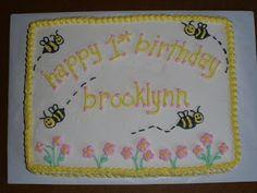 Bumble Bee Sheet Cakes