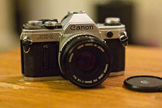 Vintage Canon AE1 35mm film Camera par callrw sur Etsy, $125.00