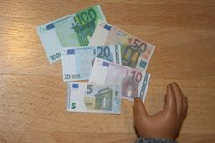Arts and Crafts for your American Girl Doll: Paris Trip - Money for American Girl Doll