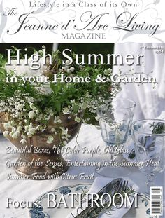 """Jeanne d'Arc Living Magazine - ISSUE 5 (2011) High Summer  This is a free sample of Jeanne d'Arc Living Magazine issue """"ISSUE 5 (2011) High Summer""""  Download full version from: Apple App Store: https://itunes.apple.com/us/app/id808699472?mt=8&at=1l3v4mh  Google Play Store: https://play.google.com/store/apps/details?id=com.presspadapp.jeannedarclivingmagazine  Magazine Description: The Jeanne d'Arc Living Magazine is a 95% advertisement free monthly lifestyle magazine filled with creative DIY…"""