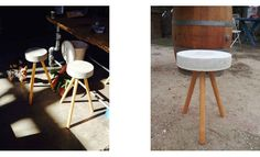 Bucket Stool by Real People