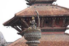 King Yoganarendra Malla, Patan, Nepal