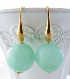 Green Emerald Earrings Long Drop Dangle Black Onyx Teardrop Uk Jewellery Gemstone Jewelry Bijoux