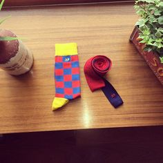 Socks and tie by 33  www.treinta-tres.com