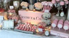 Tiffany PINK Candy Table: New York City