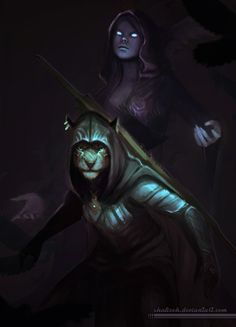 More Skyrim fanart :) DA page link - http://shalizeh.deviantart.com/art/Nightingale-623631482