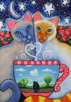 Valentine's Magic 5x7 print by Brenna White by BlueLucyStudios, $15.00