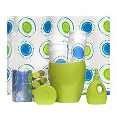 Lime Green Bathroom Accessories Lime Green Bath Accessories Smart Reviews On Cool Stuff