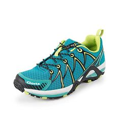 755d3c970be7b Clorts Mens Speed KX Running Shoe Trainer Trail Running Shoe Athletic  Sneaker Green 3F016B US95