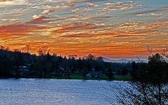 Beautiful Sunset at Lake Clear Lake Washington photo by Valerie Garner