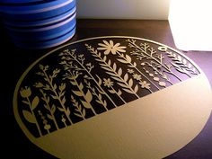 Papercut - flowers