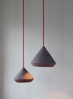 ceramic pendants with whel-trown lampshades/ isabel hamm licht Glass Pendants, Chandelier, Decor, Ceramic Pendant, Pendant Light, Glass, Bespoke Lighting, Lampshades, Ceiling Lights