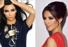 maquillaje-de-ojos-marrones Hair Makeup, Make Up, Chic, Hair Styles, Brown Eyes, Kim Kardashian, Inspiration, Beauty, Fashion